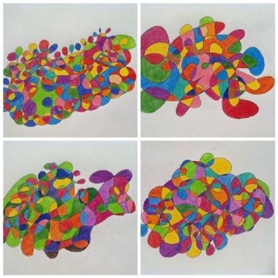 Slikanje fraktalov je umetnost, užitek in spoznavanje sebe, kar se lahko nauči vsak.